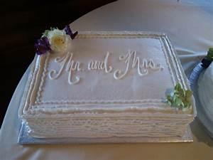 ribbon wedding sheet cake wedding cakes i39ve made With wedding sheet cake ideas
