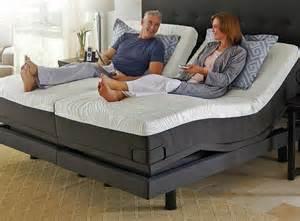 Adjustable Bed Base Split King by Reverie 8q Adjustable Bed Foundation