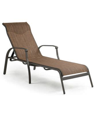 vintage aluminum outdoor chaise lounge furniture macy s
