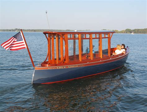 Electric Boat by Electric Boats Yacht Tenders By Budsin Wood Craft