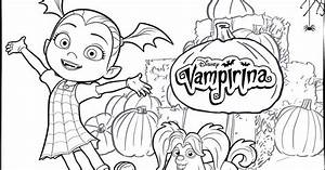 Vampirina Coloring Pages For Your Little One
