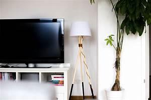 Lampe Anschließen 2 Kabel Ohne Farbe : diy lampe ~ Orissabook.com Haus und Dekorationen