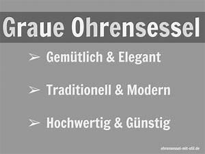 Ohrensessel Grau Mit Hocker : ohrensessel grau mit hocker xxl sessel drehsessel 9 elegante modelle ~ Indierocktalk.com Haus und Dekorationen