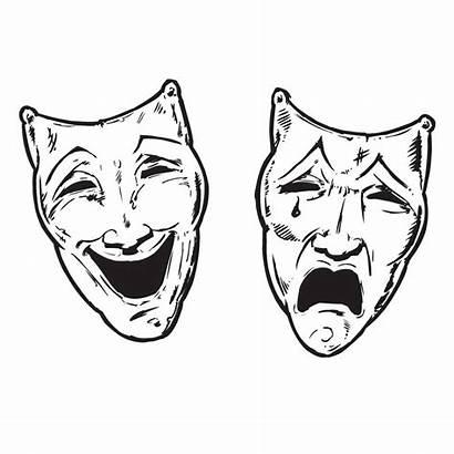 Faces Theatre Cry Later Smile Sad Happy