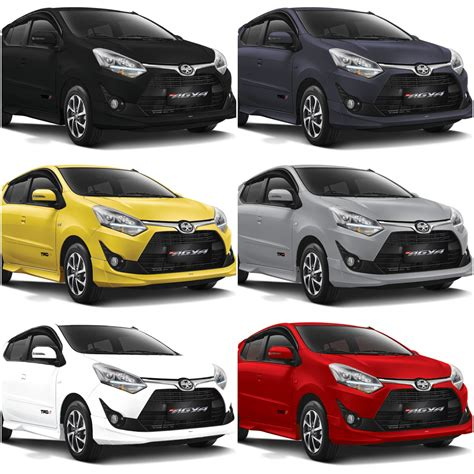 harga dan spesifikasi mobil toyota new agya terbaru 2018