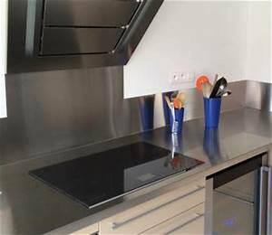 Plan Travail Inox Prix : plakinox plan de travail inox pour la cuisine les ~ Edinachiropracticcenter.com Idées de Décoration