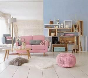 Salon Gris Et Rose : beau salon rose et gris avec decoration salon rose et gris idee deco collection des photos ~ Preciouscoupons.com Idées de Décoration