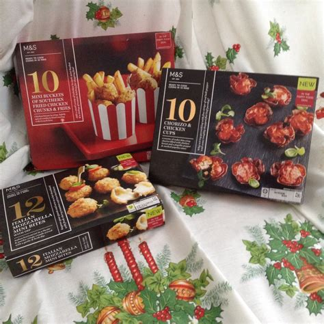 christmas 2015 has arrived in marks spencer s food hall