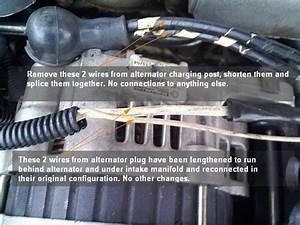 Fresh Start  Alternator Wiring Upgrade Configuration