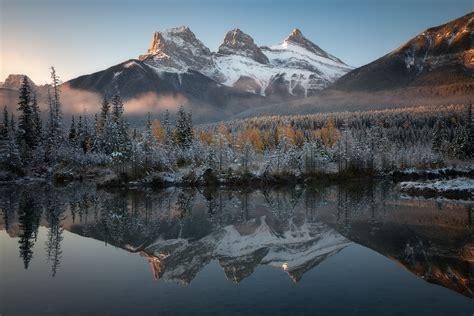 The Three Sisters | Canadian Rockies | Ken Koskela ...