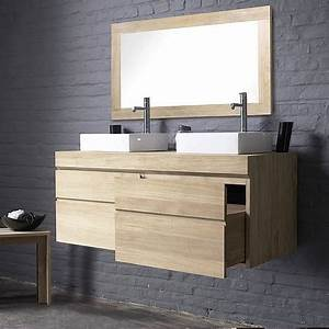 Meuble Salle De Bain Moderne : extraordinary meuble de salle bain pas cher moderne 14 ~ Nature-et-papiers.com Idées de Décoration