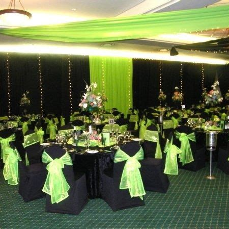 my wedding colors lime green black and white wedding casamento