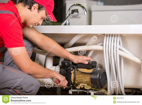 plumbing repair service plumbing stock photo image 45757373