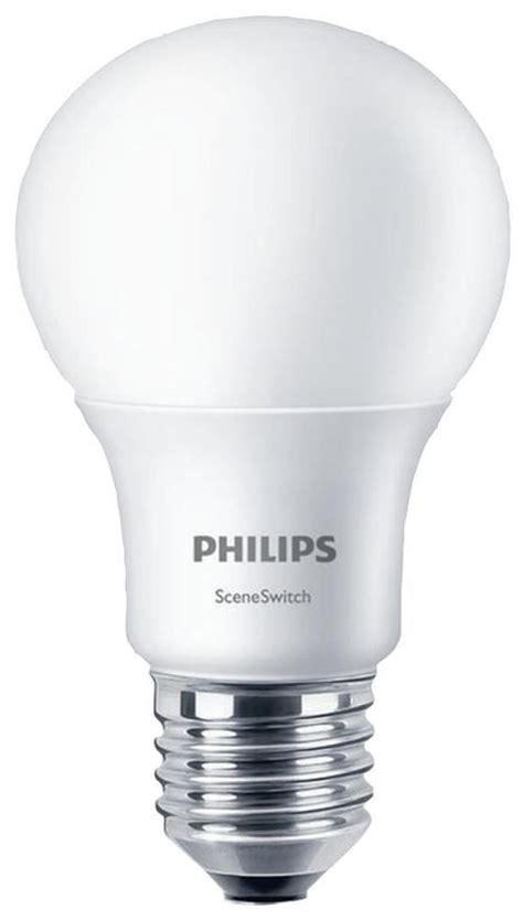 philips lighting 58884000 e27 8w gls led bulb 2700k