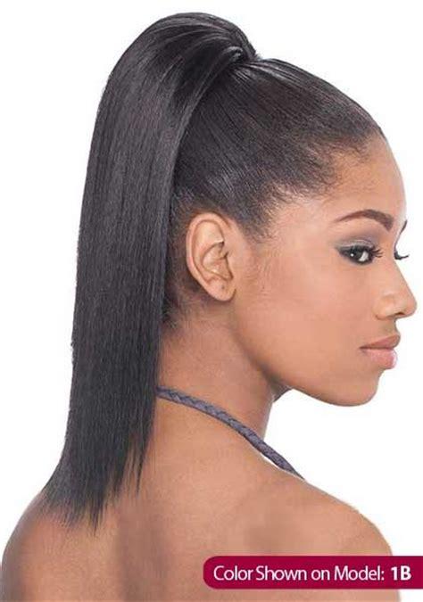 equal drawstring ponytail yaky straight