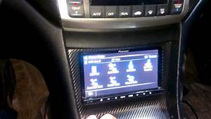 Pioneer Z140bh Double Din Deck In 2004 Tsx