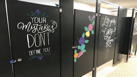 ideas for bathroom walls parents students with inspiring bathroom