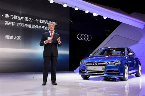 Audi Us Sales Target By 2020 by Audi Wants To Sell 700 000 Per Year In China By 2020