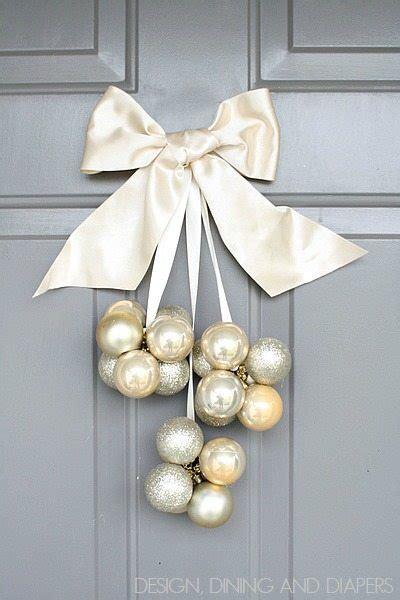 bake craft sew decorate diy stenciled christmas decor