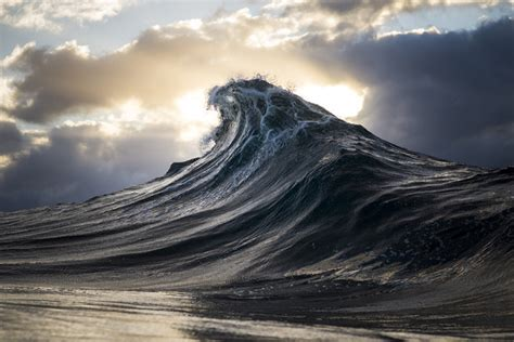 Gorgeous Closeup Photos Of Ocean Waves By Photographer