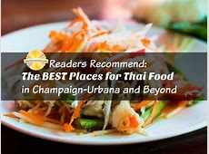 Readers Recommend The BEST Places for Thai Food in