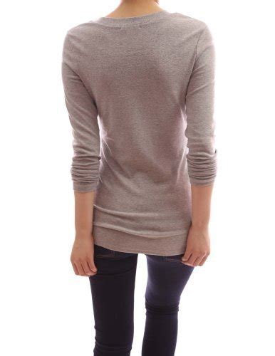 aesthetic official pattyboutik v neck sleeve stretch pullover fitted casual tunic blouse