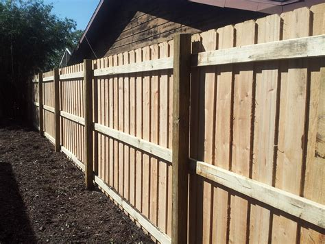 fence cypress wood fence
