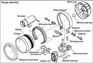 Bf Tachometer Components  U0026 Installation