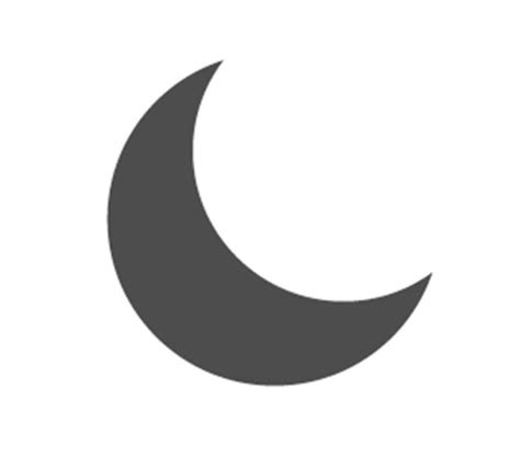 iphone iphone quarter moon icon