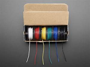 Hook-up Wire Spool Set - 22awg Solid Core