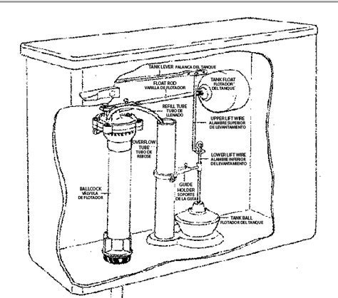 """PP830 2   Deluxe Toilet Tank Repair Kit For 8 1/2"""" tanks"""