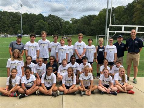 cary christian school coed middle school cross country fall