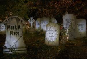 Cute Halloween Tombstone Names by Graveyard Halloween Quotes Quotesgram