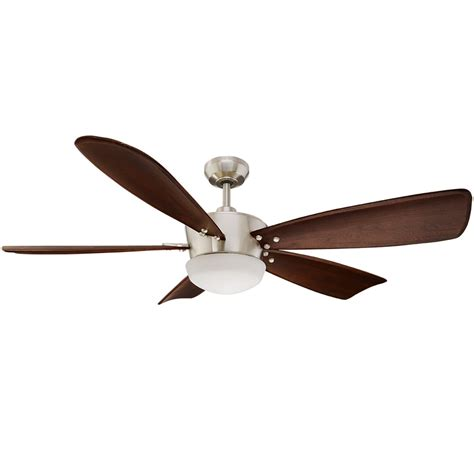 60 ceiling fans with light and remote shop harbor breeze saratoga 60 in brushed nickel indoor