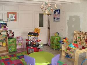 decoration bureau et salle de jeux With idee deco salle de jeux