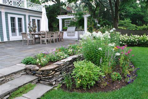 terraced backyard garden terraced backyard shade garden gathering e green with simple terrace ideas pictures landscape