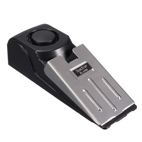 door stop alarm door stop block systerm security portable burglar sensors
