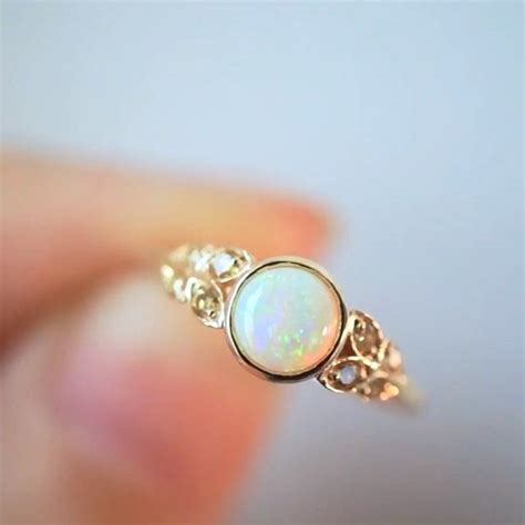 Opel Rings by 25 Best Ideas About Opal Rings On Opal
