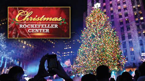 nbc christmas tree lighting 2017 christmas in rockefeller center nbc com
