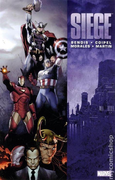 marvel siege siege tpb 2010 marvel books
