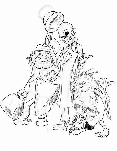 Ghosts Grinning Grim Sketch Muhr Jason Daily