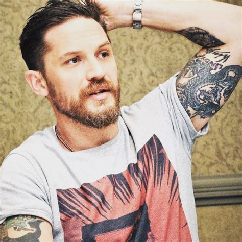 Popular Tom Hardy?s Hairstyle Ideas   Hairstyles 2018 New