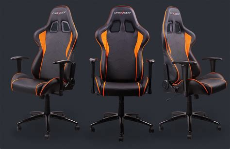 dxracer showcases six unique chair designs tailored to