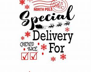special delivery bag etsy With santa letter delivery