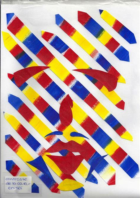 couleur en soi collages illustrant les contrastes color 233 s apprendre en
