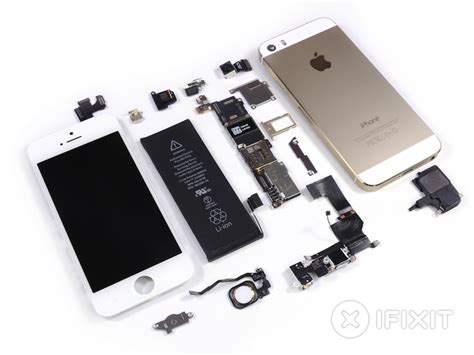iphone chip ifixit s iphone 5s teardown reveals touch id fingerprint