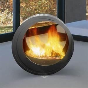 The, Eclypsa, U2013, A, Freestanding, Circular, Fireplace