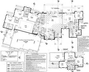 Detailed House Plans Pictures by Accommodations Desert Ridge Estate