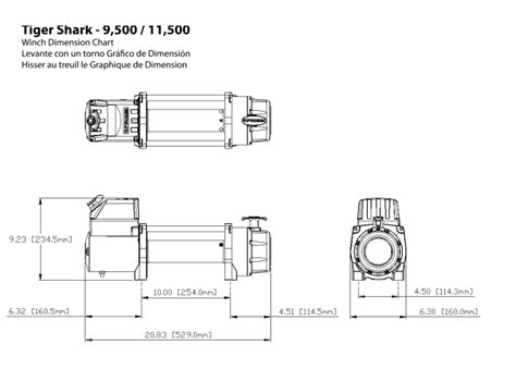 Tiger Shark Wiring Diagram by Superwinch Tiger Shark 9500 1595200