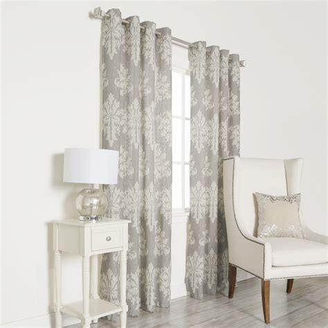 Best Curtain Panels by Best Home Fashion Inc Linen Blend Grommet Top Curtain